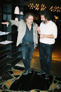 Jim White and George Xylouris