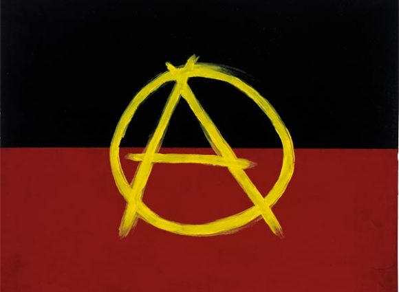 WO Archie Moore Aboriginal Anarchy 2012, National Gallery of Australia, Canberra, purchased 2013